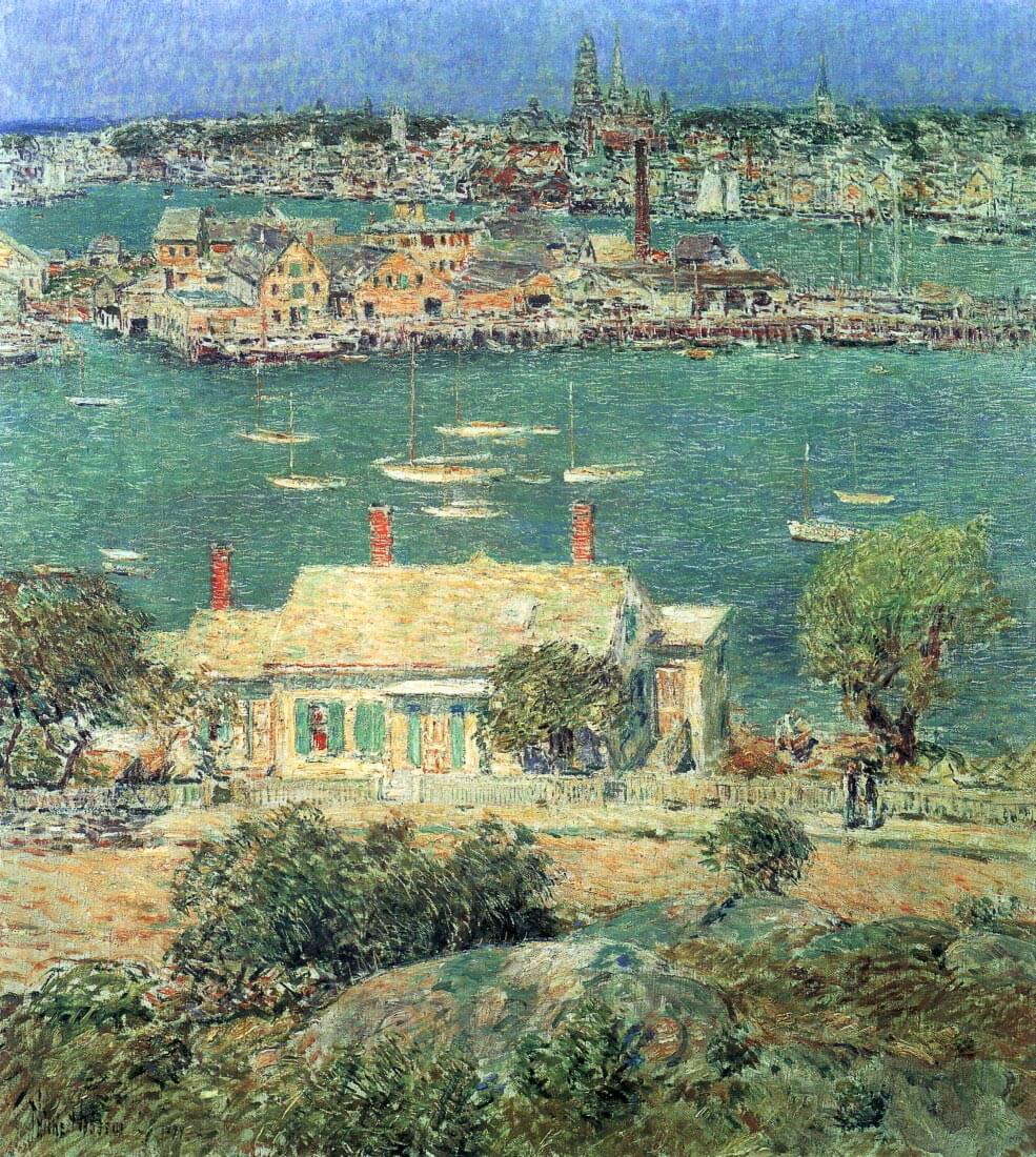 The port of Gloucester [2] - Hassam